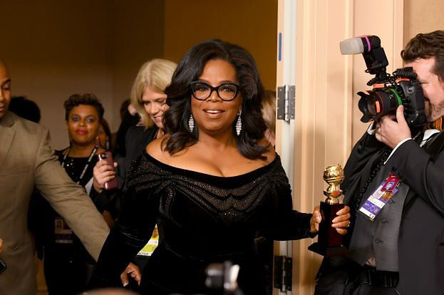 """Przemówienie Oprah Winfrey na Złotych Globach zrobiło furorę: """"Mówienie prawdy jest NAJPOTĘŻNIEJSZĄ BRONIĄ, jaką mamy"""""""
