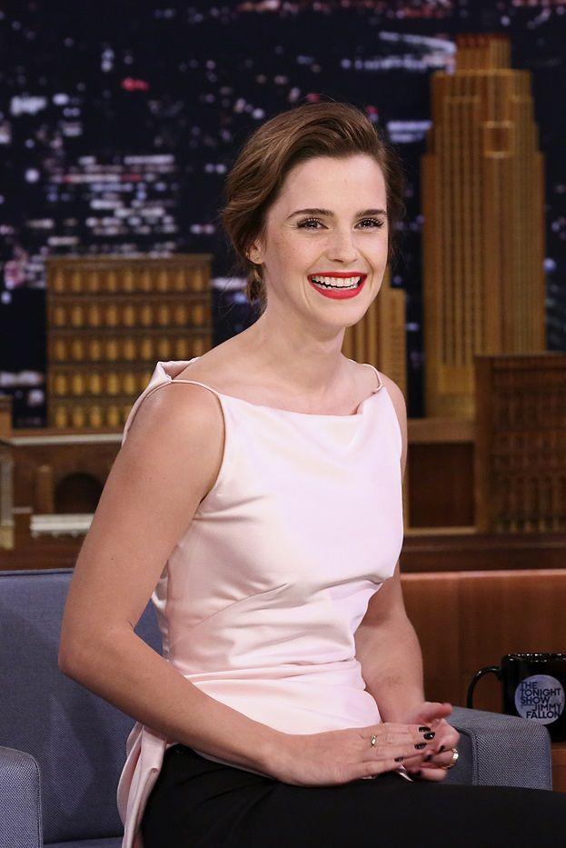 Emma Watson ogłasza na łamach