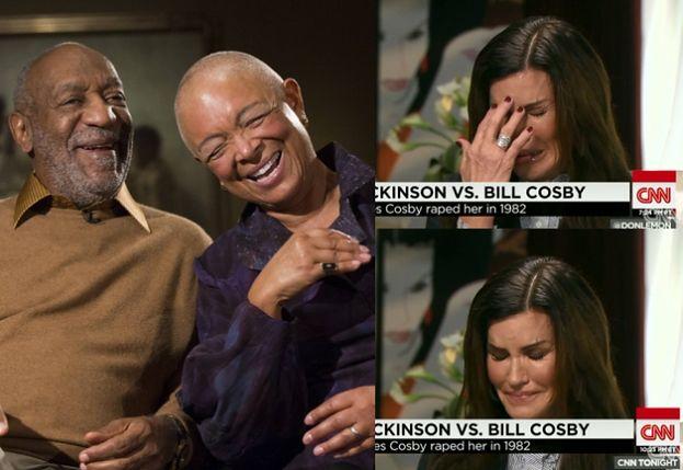 """Ofiara Cosby'ego do jego żony: """"Przykro mi, że TWÓJ MĄŻ JEST GWAŁCICIELEM!"""""""