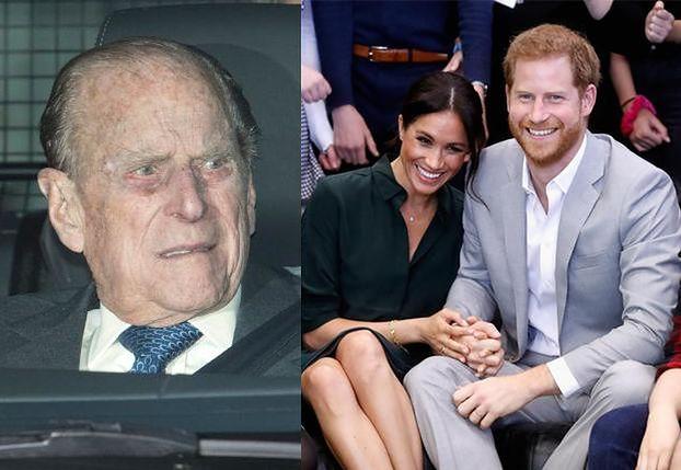 """Książę Filip ODRADZAŁ Harry'emu małżeństwo z Meghan Markle? """"Z aktorkami się umawia, a nie żeni"""""""
