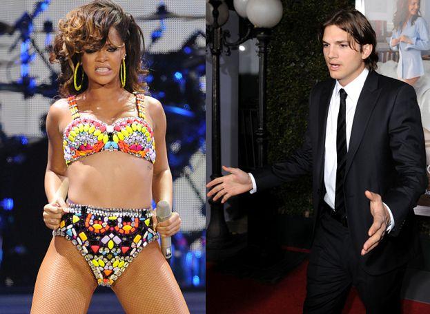 Rihanna sypia z Ashtonem?!