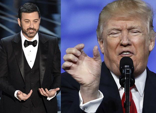 """Jimmy Kimmel do Trumpa: """"Oscary transmitowane są do ponad 225 krajów, które teraz nienawidzą USA"""""""