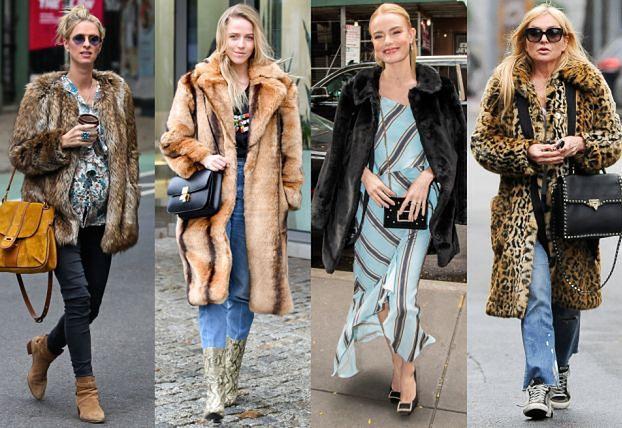 Gwiazdy noszą futrzane płaszcze