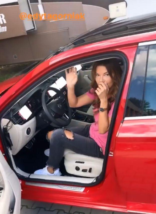 """Edyta Górniak narzeka na naukę jazdy samochodem: """"MAM ZAKWASY"""""""