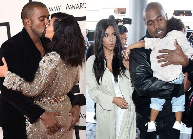 """Kim Kardashian URODZI SYNA! Kanye czekał na """"następcę tronu""""..."""