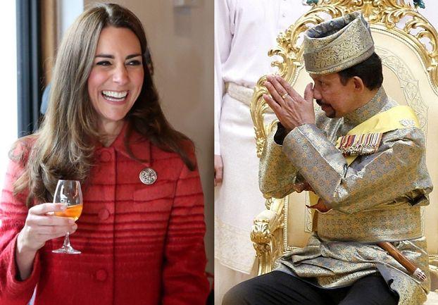 SKANDAL w Wielkiej Brytanii: Księżna Kate BAWI SIĘ U MORDERCY z Brunei!