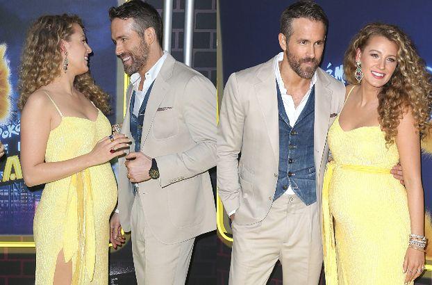 Blake Lively jest w ciąży! Pochwaliła się brzuszkiem podczas premiery filmu (FOTO)