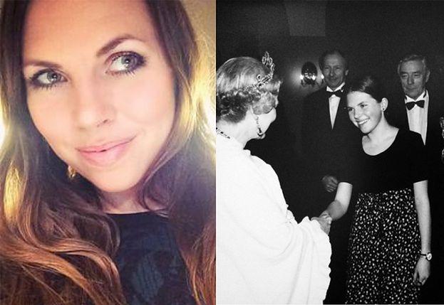 """Kwaśniewska chwali się spotkaniem z królową Elżbietą: """"Odrabiałam pracę domową, nagle dzwoni telefon, że królowa chce mnie poznać!"""""""