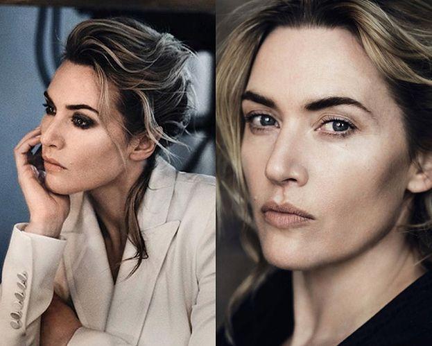 Zamyślona Kate Winslet na zdjęciach bez retuszu
