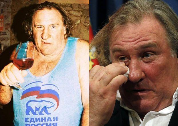 """Ukraina ogłosiła Gerarda Depardieu """"zagrożeniem dla bezpieczeństwa narodowego""""!"""