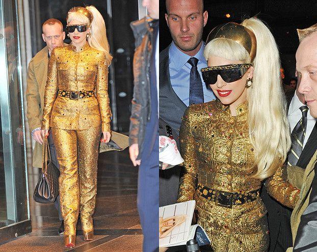 Złota Lady Gaga... (PORAŻKA?)