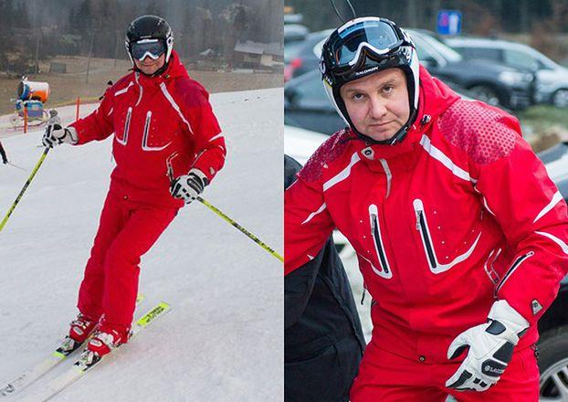 Prezydent Andrzej Duda na nartach (ZDJĘCIA)