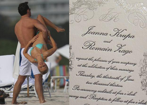 Joanna Krupa zaprasza na ślub! Wpadniecie?