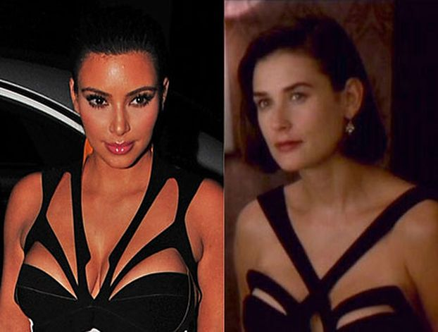 Kim Kardashian vs. Demi Moore!