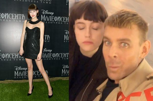 """Olga Kleczkowska z """"Top Model"""" bryluje na premierze """"Czarownicy 2"""" w Moskwie (FOTO)"""