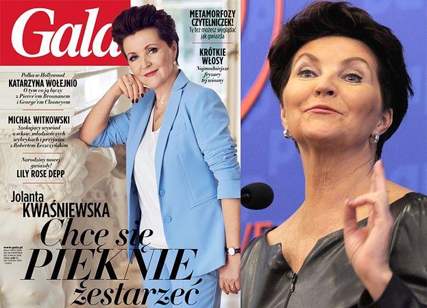"""Kwaśniewska w Gali: """"Bieganie po sieciówkach już mnie nie kręci!"""""""