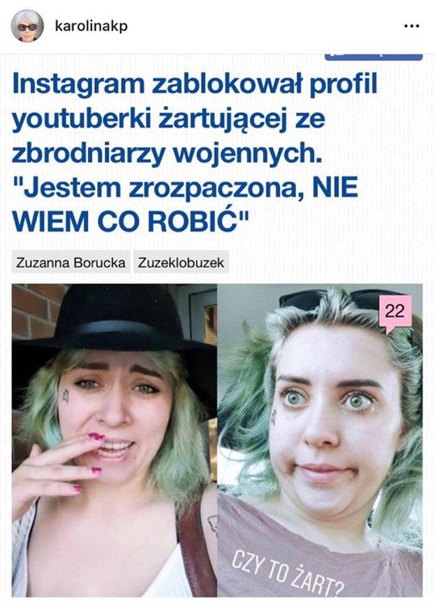"""Karolina Korwin Piotrowska krytykuje youtuberkę żartującą z Hitlera: """"Apoteoza SKRAJNEJ GŁUPOTY i brak jakiejkolwiek odpowiedzialności"""""""