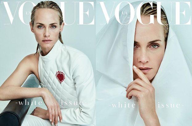 "43-letnia Amber Valletta na okładce ""Vogue'a"""