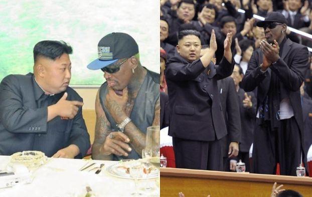 """Rodman ZNÓW SPOTKAŁ SIĘ z Kim Dzong Unem! """"TO MÓJ PRZYJACIEL"""""""