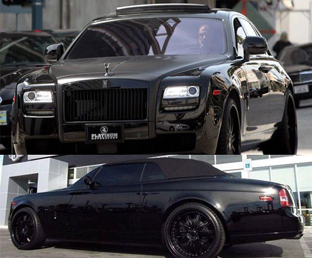 Czarne samochody Davida Beckhama (ZDJĘCIA)