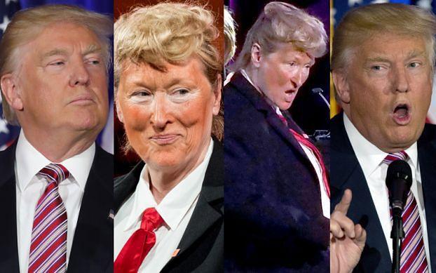 Meryl Streep przebrała się za... Donalda Trumpa! POZNAJECIE?