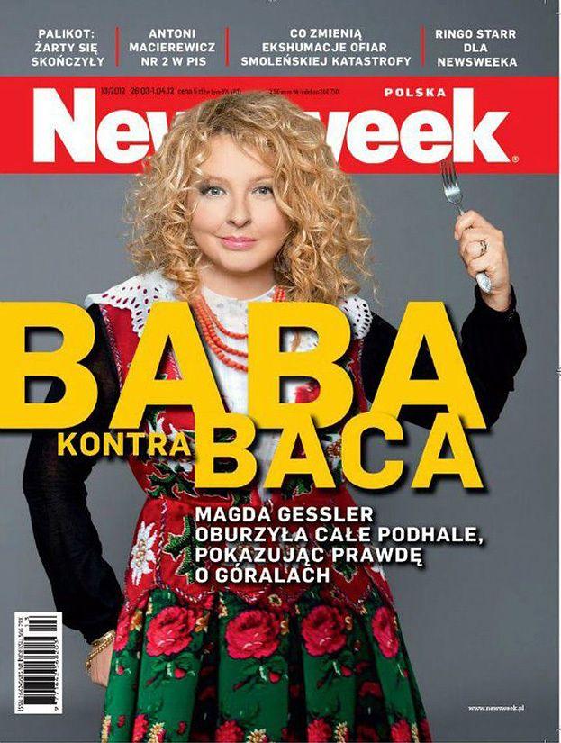 """RETUSZ GESSLER na okładce """"Newsweeka""""! (FOTO)"""