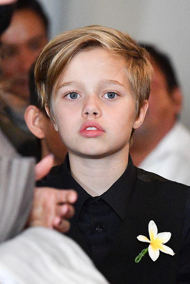 """Shiloh Jolie-Pitt chce UCIEC od matki? Córka Angeliny Jolie woli mieszkać z ojcem: """"BŁAGA o życie u boku Brada"""""""
