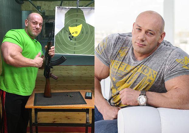 """Robert Burneika pokazał zdjęcie ze strzelnicy: """"Trening przed uchodźcami!"""""""