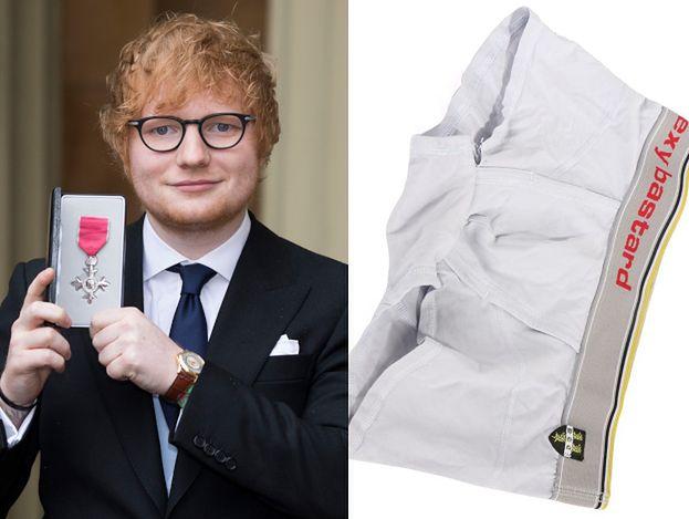 Ed Sheeran wystawił na aukcję charytatywną swoje… zużyte bokserki