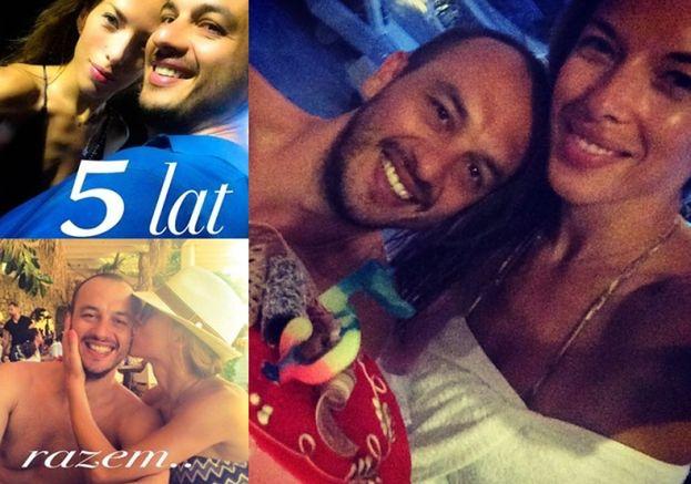 Chodakowska świętuje 5. rocznicę związku na Facebooku!