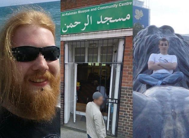 Skandal w Londynie: Pijani Polacy rzucali bekonem w meczecie!