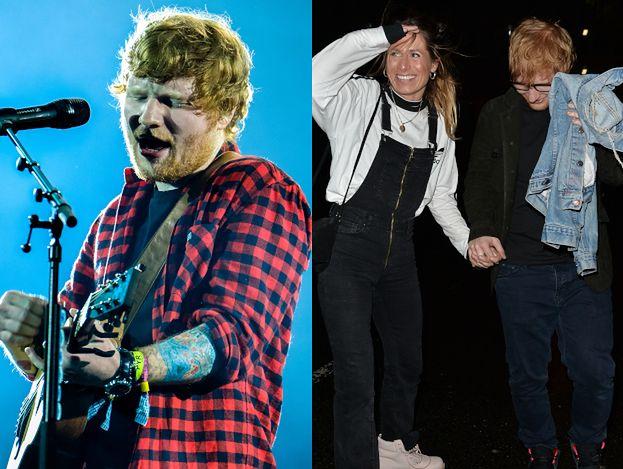 Ed Sheeran przyznał, że jest już po ślubie! Piosenkarz ożenił się z Cherry Seaborn w kompletnej tajemnicy