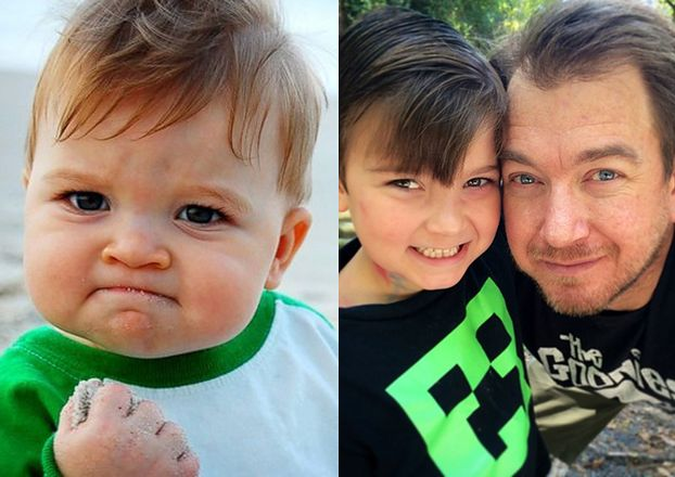 Poznajecie go? Mały BOHATER MEMA pomaga ojcu zebrać pieniądze na przeszczep nerek! (FOTO)