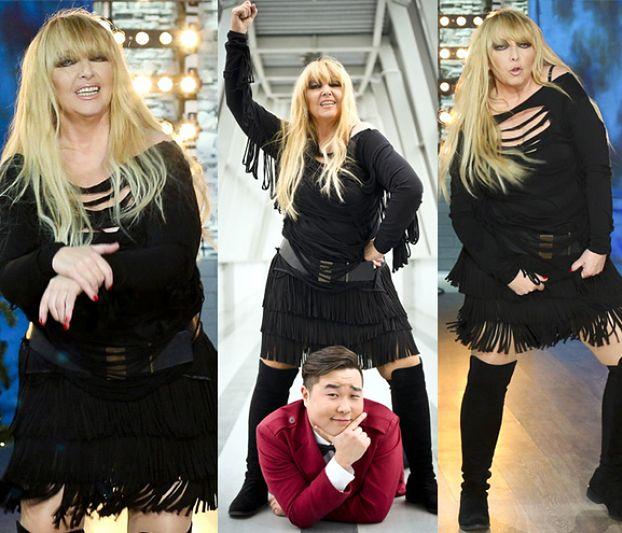 """Rodowicz znowu tańczy """"Gangnam Style""""! UWAGA: ŚLICZNE ZDJĘCIA"""