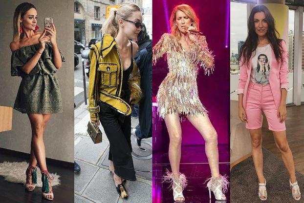 Jakie sandały z frędzlami wybierają celebrytki?