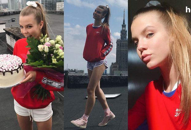 Iga Lis chwali się kampanią dla Reeboka. Wciąż chce zostać modelką? (FOTO)