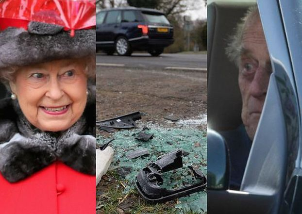 """Ofiara wypadku spowodowanego przez księcia Filipa: """"Mam złamany nadgarstek. Nikt mnie nie przeprosił"""""""