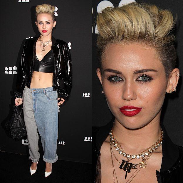 NOWY STYL Miley Cyrus?
