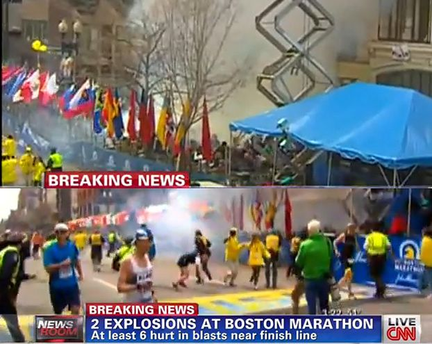 EKSPLOZJA na mecie maratonu w Bostonie! WYPADEK CZY ZAMACH?