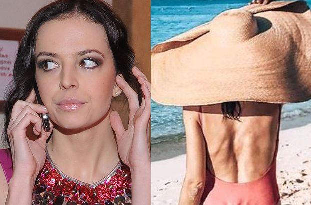 """Zdenerwowana Anna Wendzikowska """"pozdrawia"""" hejterów z urlopu: """"Dziękuję za wszystkie komentarze, że jestem szkieletem i WYGLĄDAM OHYDNIE"""""""