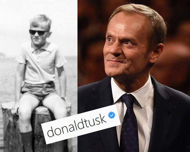 Donald Tusk założył Instagram!