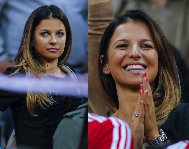 Lewandowska dopinguje Roberta na meczu! (ZDJĘCIA)
