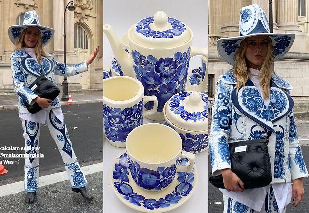 Jessica Mercedes jako porcelana Włocławek na Paryskim Tygodniu Mody (FOTO)