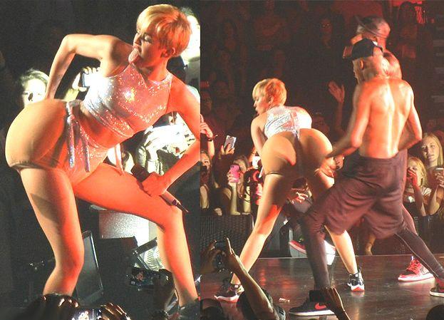 Miley Cyrus wypina SZTUCZNE POŚLADKI! (ZDJĘCIA)