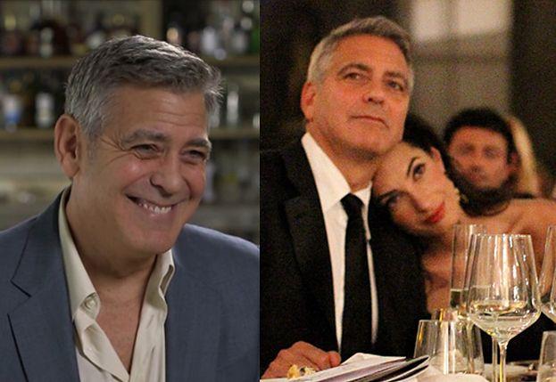 """George Clooney: """"Czuję się całkiem młodym 55-letnim ojcem"""""""