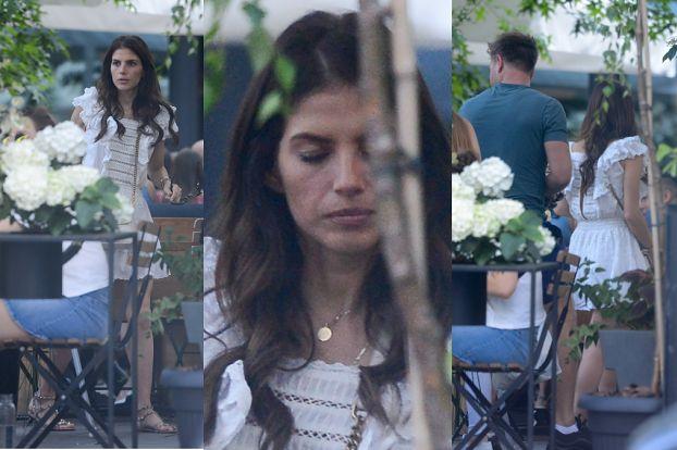 Weronika Rosati w towarzystwie tajemniczego mężczyzny spędza czas w restauracji (ZDJĘCIA)