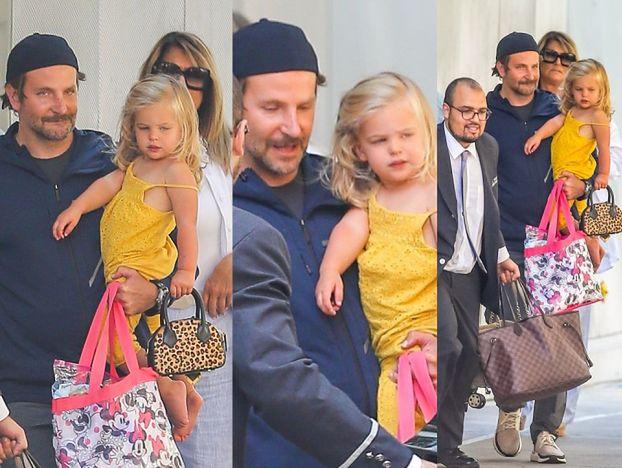 Bradley Cooper odbiera małą Leę od Iriny. Eks-kochankowie już nie uratują związku?