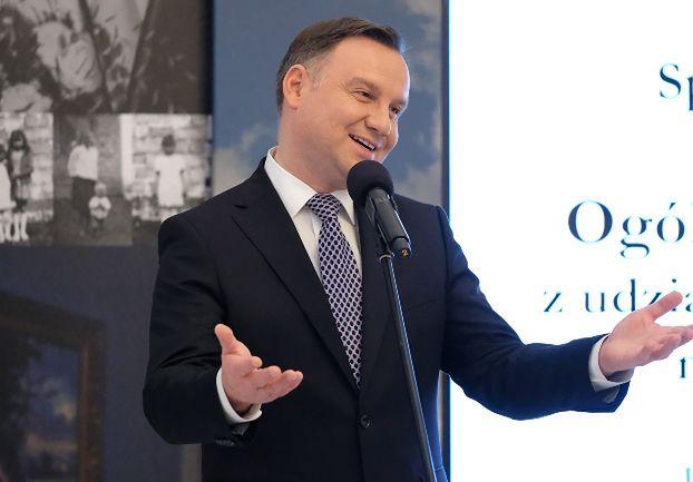 """Małżeństwo z Wałbrzycha nie przyjęło medalu od Andrzeja Dudy. """"Poczekamy, aż prezydent się zmieni"""""""