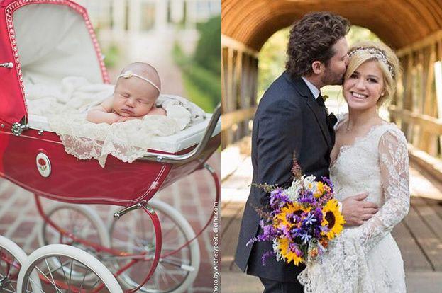 Kelly Clarkson pokazała córkę! (FOTO)