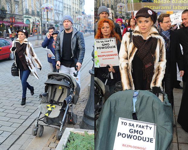 Doda i Błażej z pustymi wózkami! (FOTO)